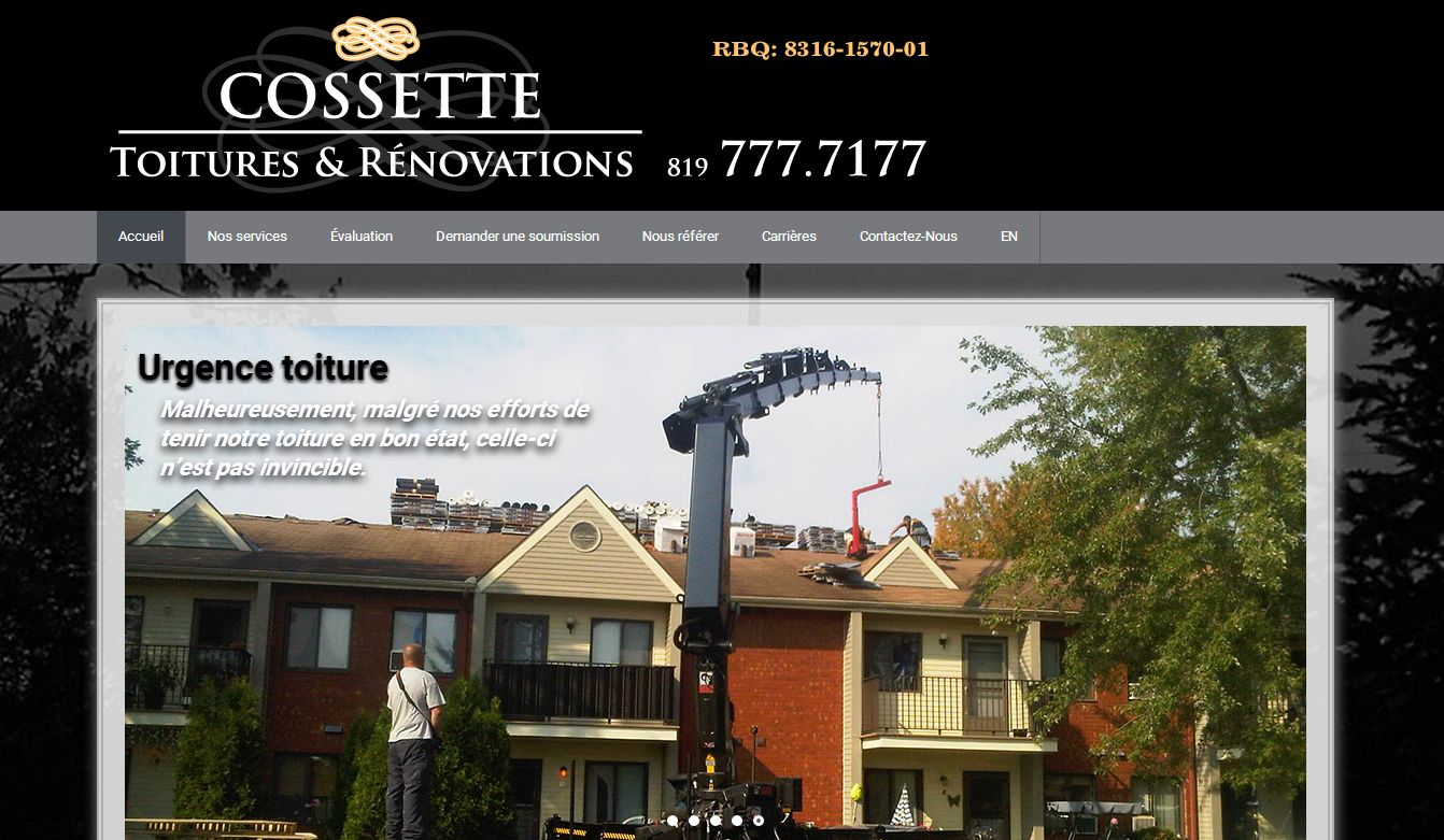 Cossette Toitures & Renovations – Gatineau
